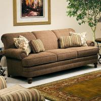 Smith Brothers 346 Upholstered Stationary Sofa | Sheely's ...