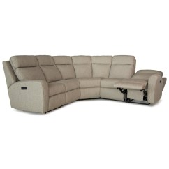 Motorized Sectional Sofa Macy S Full Bed Smith Brothers 418 Casual Reclining
