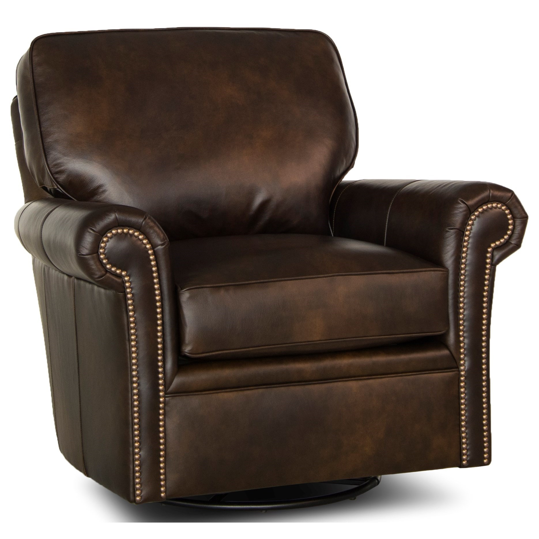 Upholstered Glider Chair Smith Brothers 528 Traditional Swivel Glider Chair With