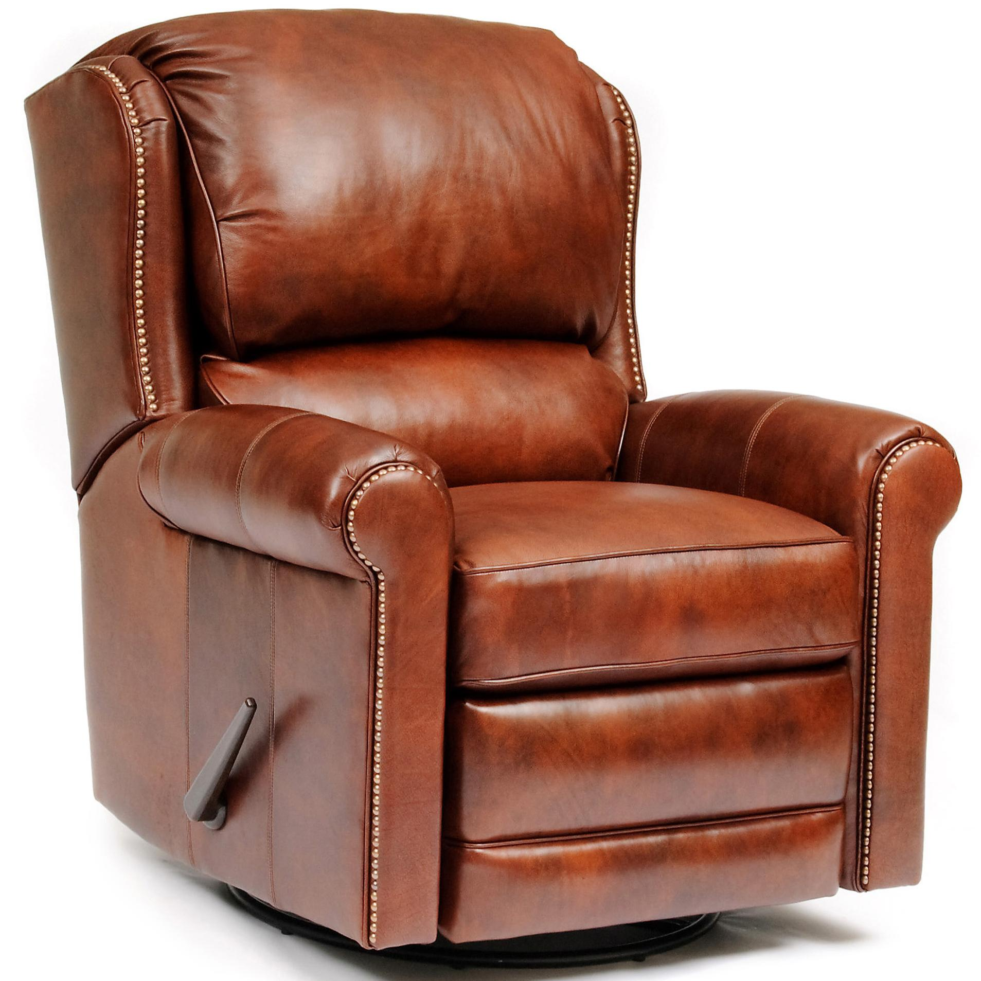 Leather Reclining Chair 720l Casual Leather Motorized Reclining Chair By Smith