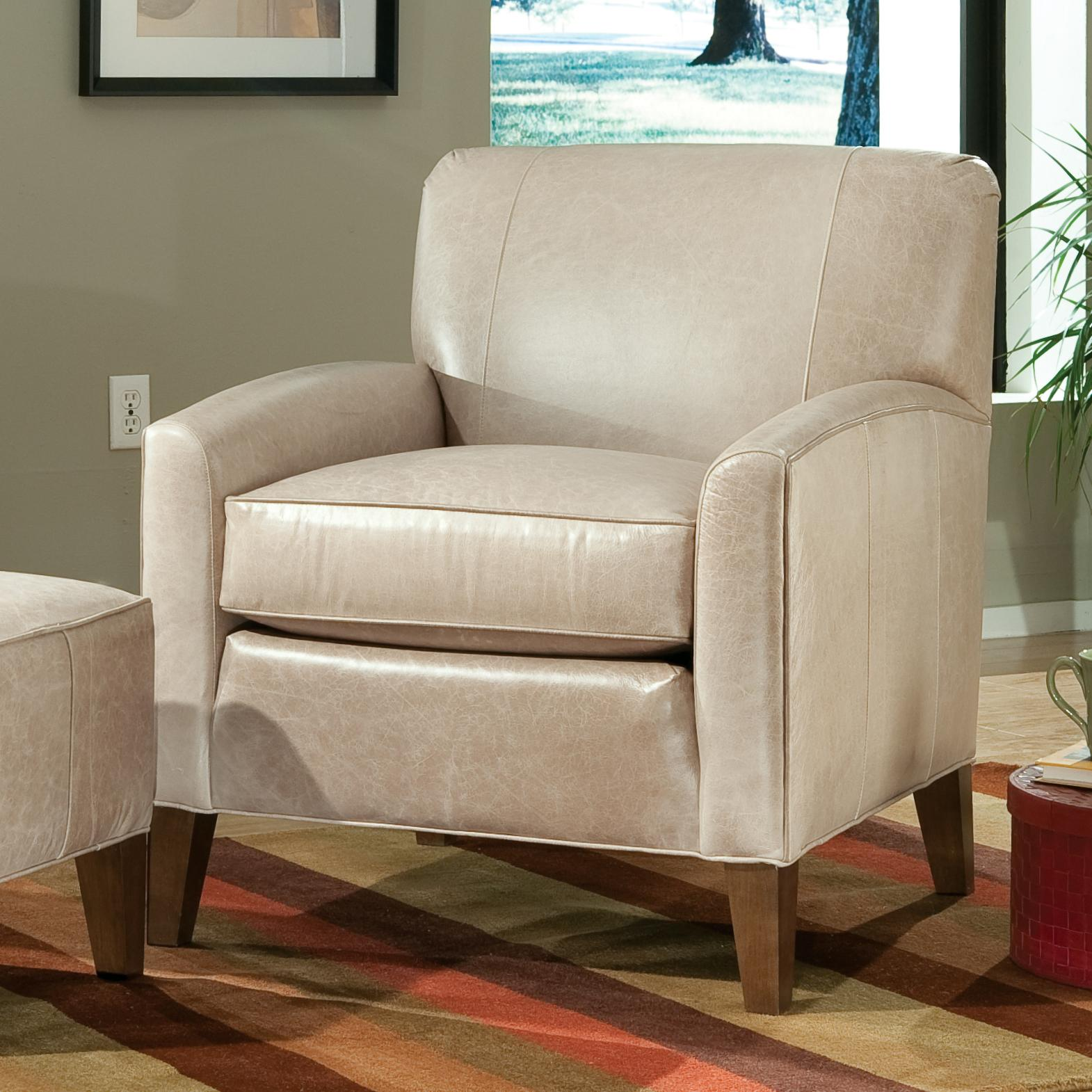 accent chairs with ottomans sams folding smith brothers and sb contemporary
