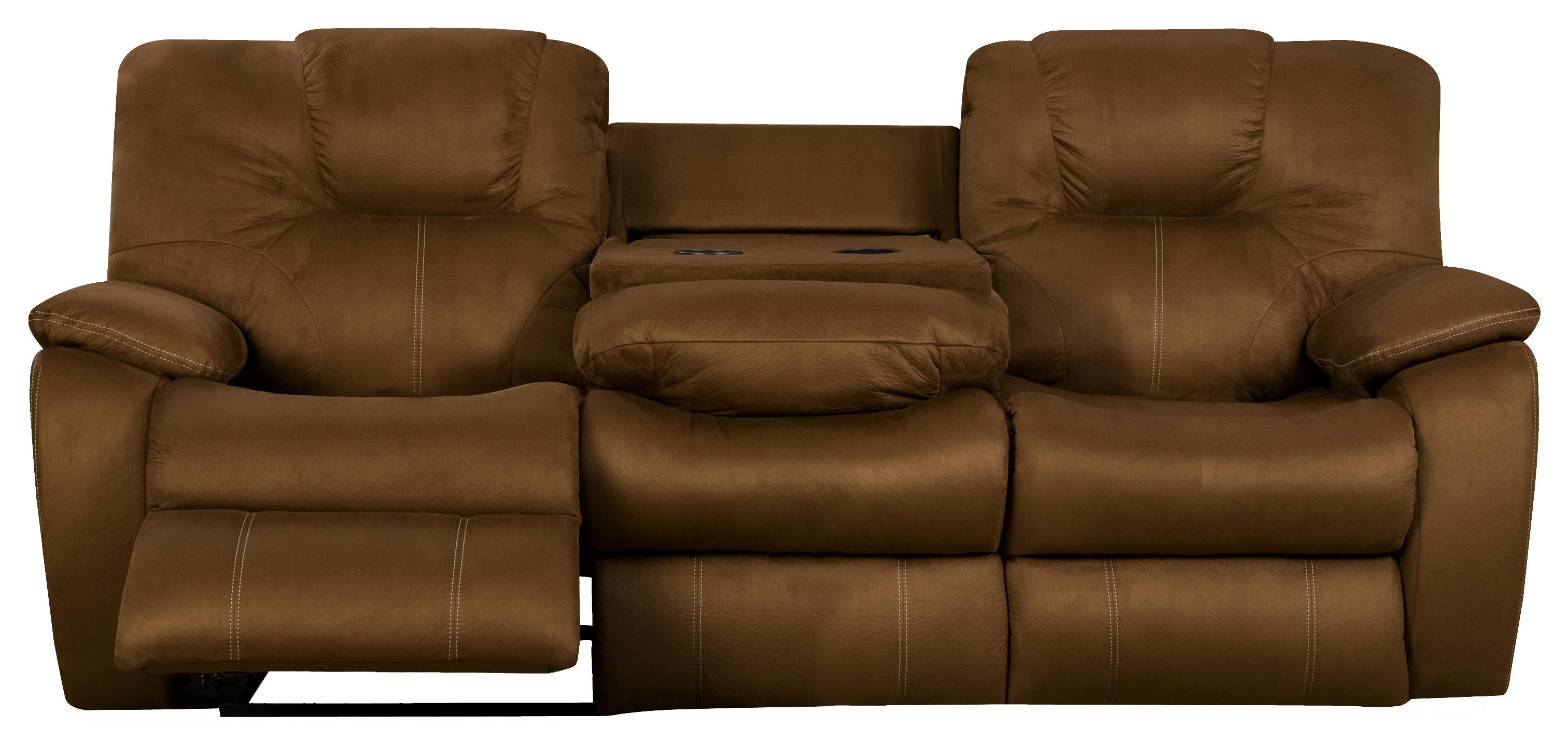 microfiber reclining sofa with drop down table mattress topper suitable for bed the furniture