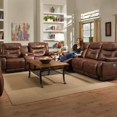 Crescent Power Sofa Recliner With Headrest Cane Set Online Bangalore Southern Motion 874 78p Double Reclining Console
