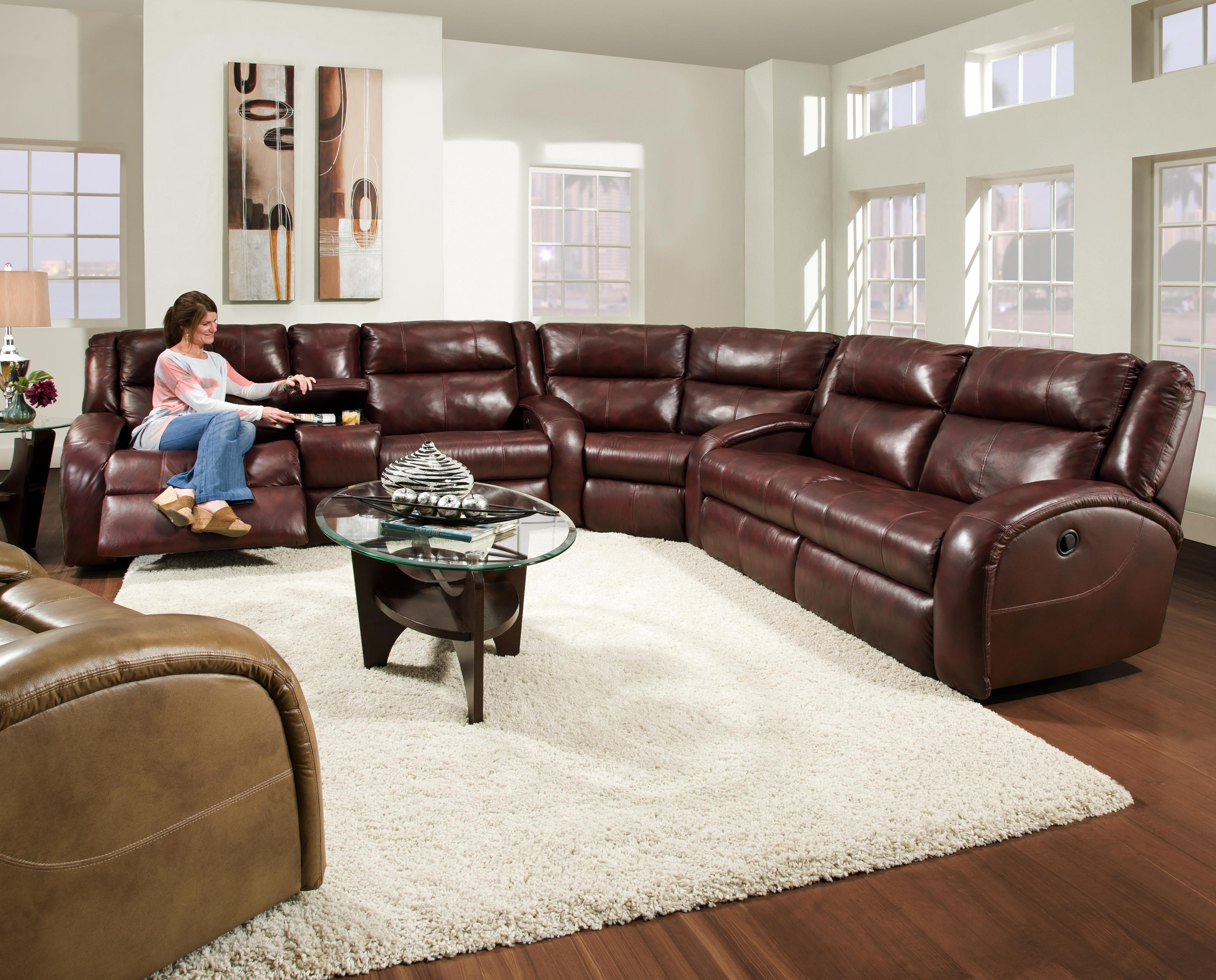 southern furniture gibson sofa designs of wooden sets motion maverick reclining sectional with