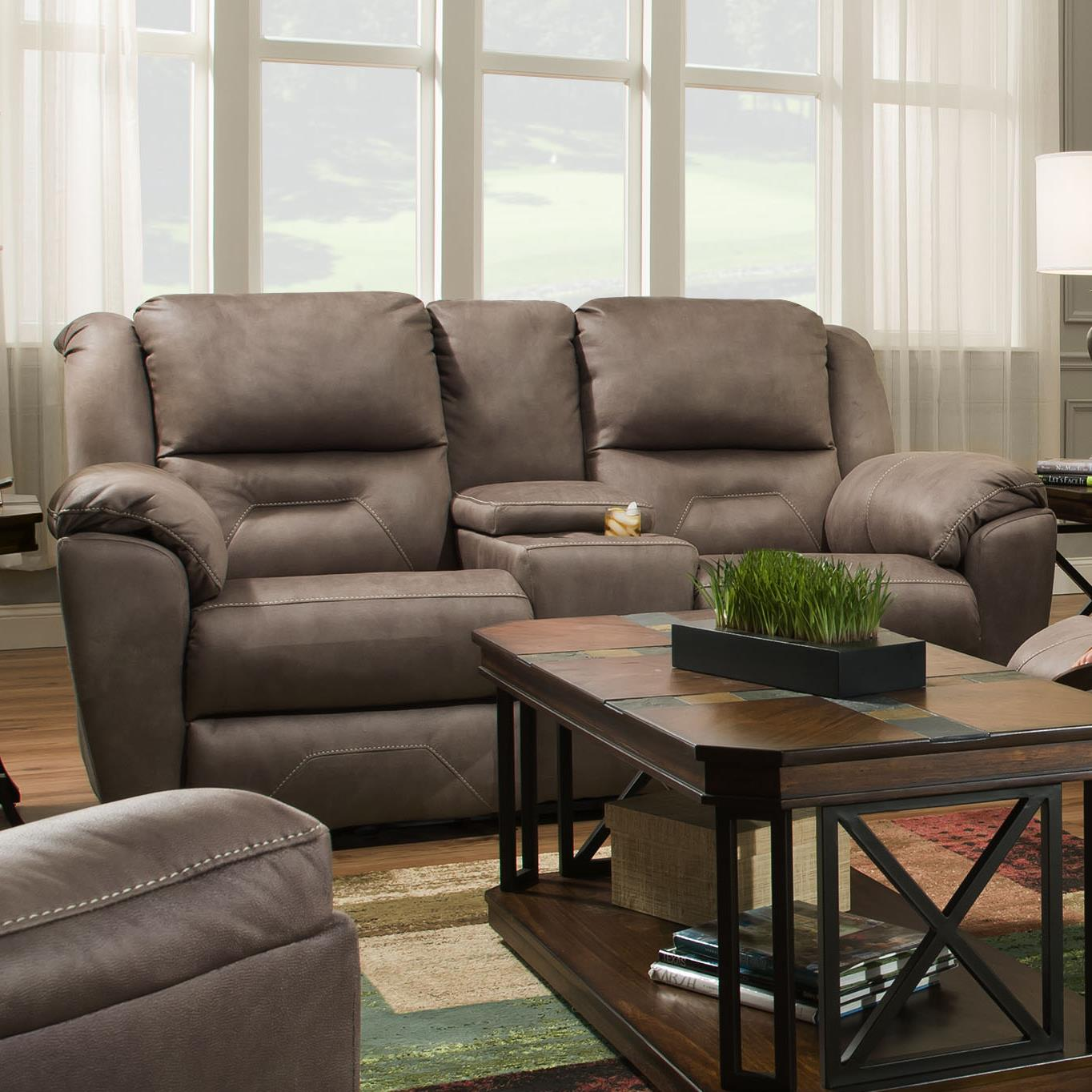 gladiator power dual reclining sofa reviews small living room console abilene recliner leather w
