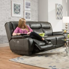 Southern Motion Velocity Reclining Sofa Finn Juhl 137 Double With Power