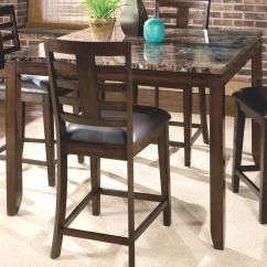 Pub Height Chairs Kneeling Chair Staples Standard Furniture Bella Counter Table With Faux