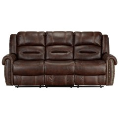 Reclining Sofa With Nailhead Trim Lounger Singapore Standard Furniture Cunningham Casual