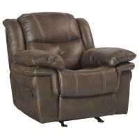Standard Furniture Huxford Glider Recliner with Pillow ...