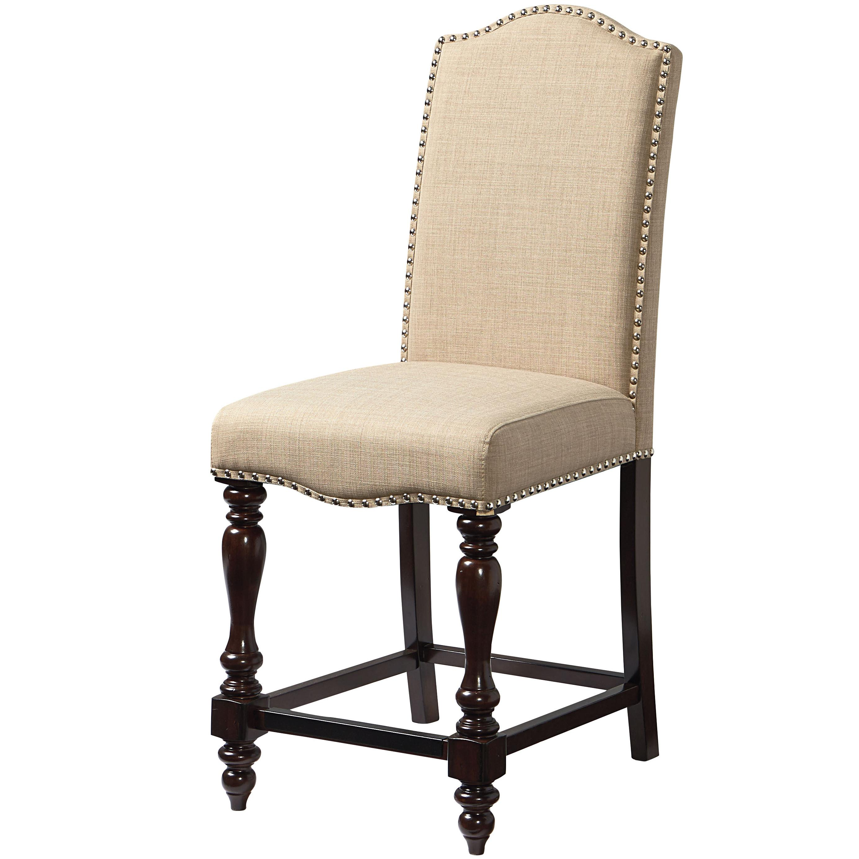 chair standard height hanging bali furniture mcgregor 17737 upholstered counter