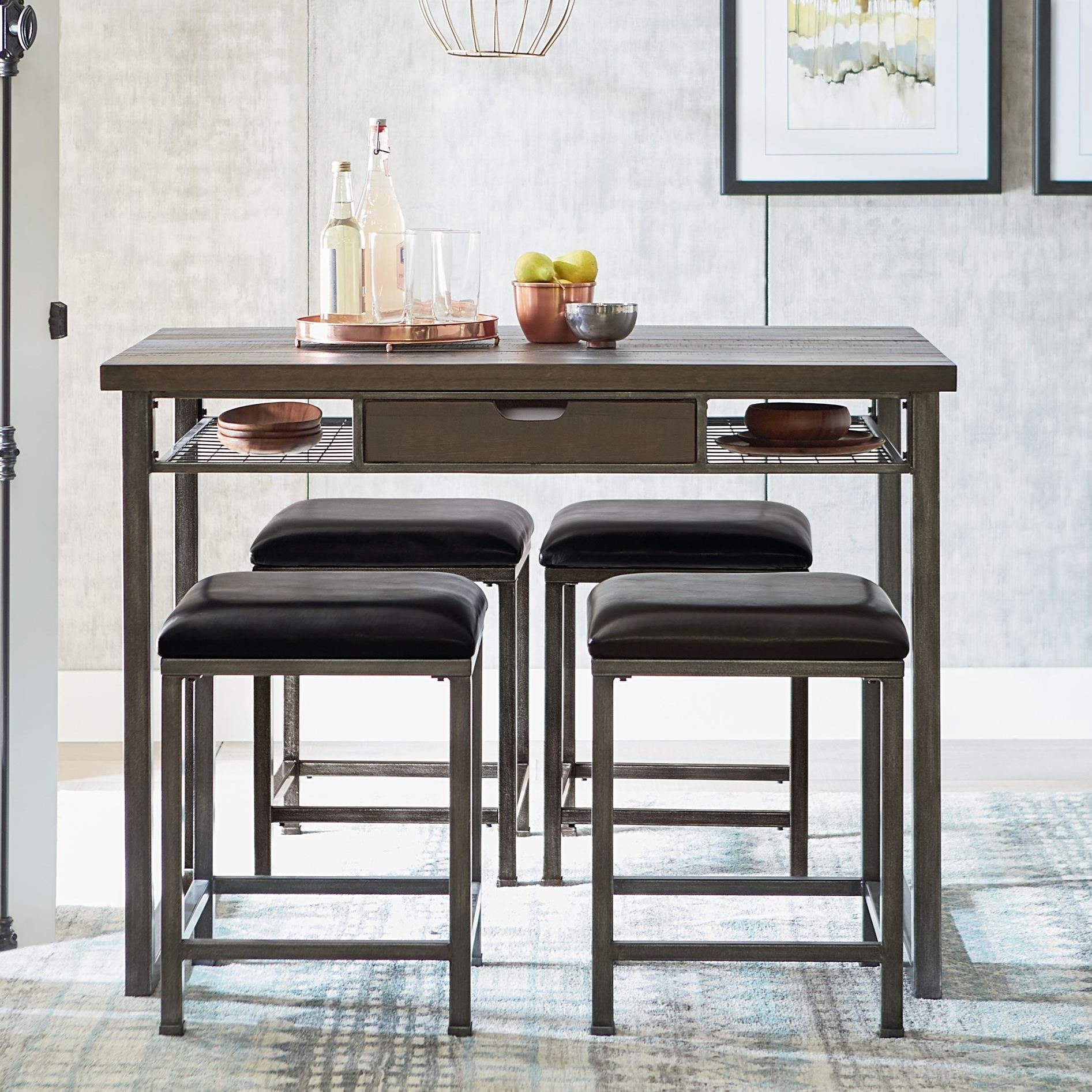 industrial dining table and chairs wheelchair president standard furniture montvale chair set