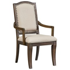 Upholstered Chair With Nailhead Trim Swing Patio Standard Furniture Parliament Arm