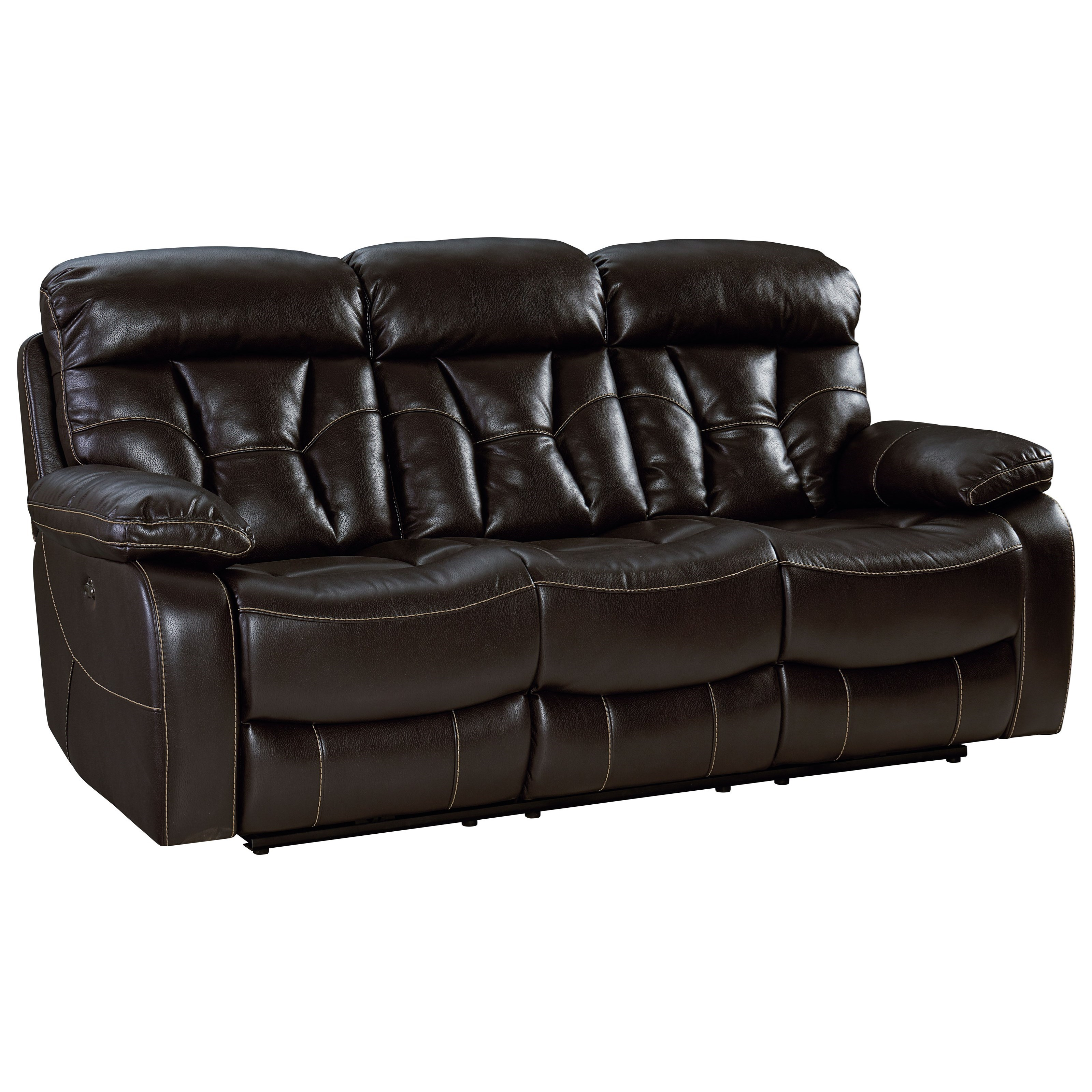 sofa mart peoria il semi circle suppliers zenith 4150961 reclining with pillow arms and
