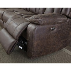 Liberty Sofa And Motion Loveseat Tempurpedic Cushions Standard Furniture Rainier With Pillow