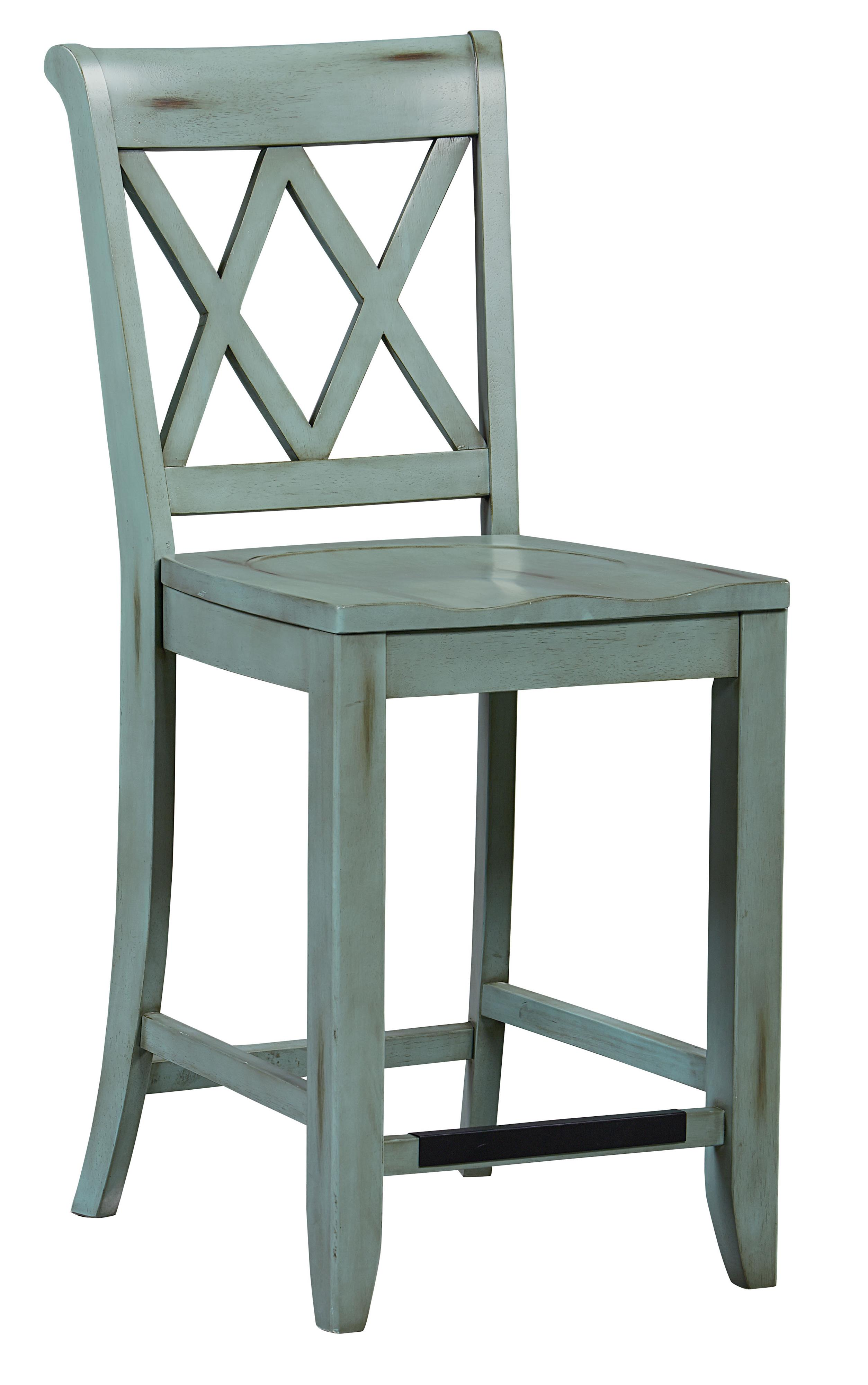 chair stool counter height folding wood boat deck chairs standard furniture vintage vanilla