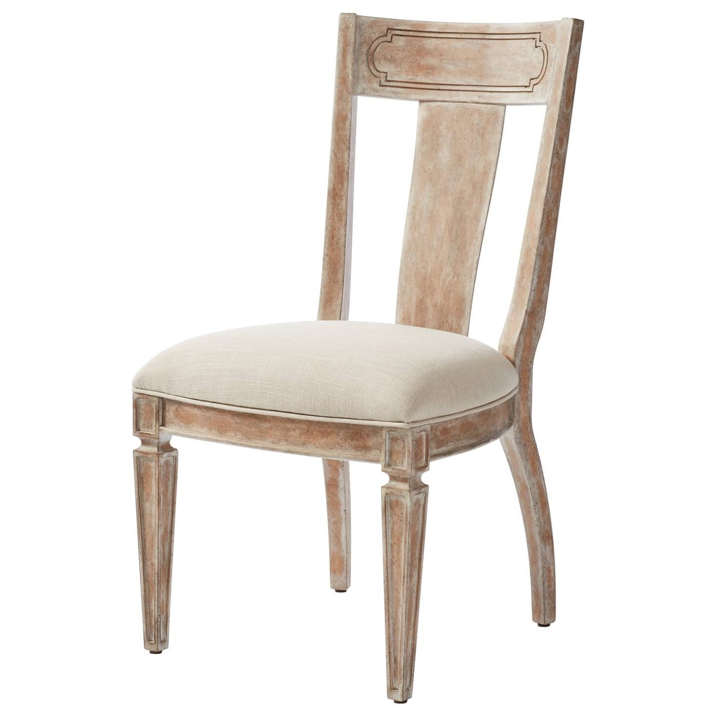 cottage style chairs white bankers chair stanley furniture juniper dell contemporary