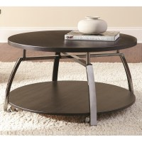 Steve Silver Coham Round Cocktail Table | Wayside ...
