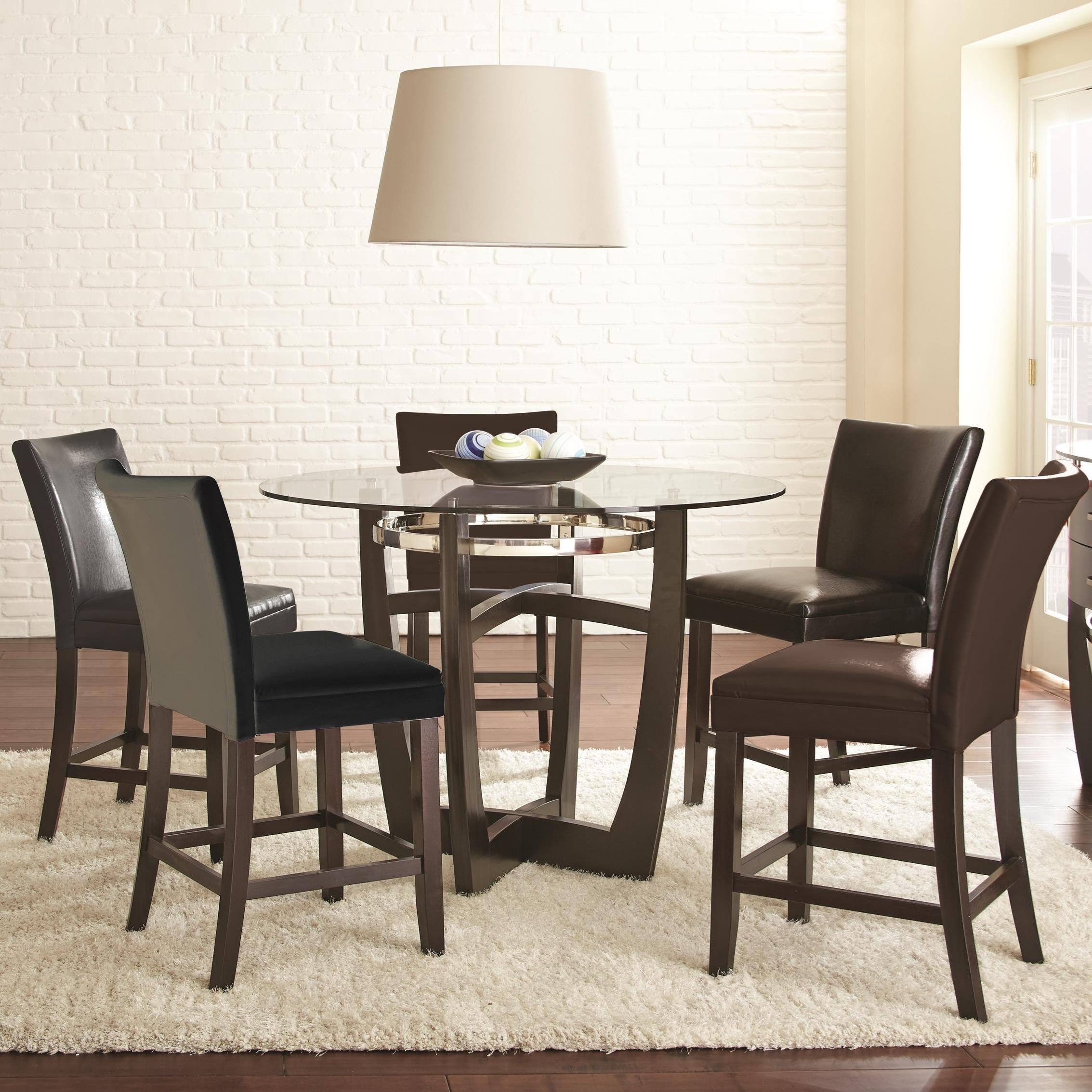 6 chair dining set ebay accent chairs steve silver matinee piece counter height