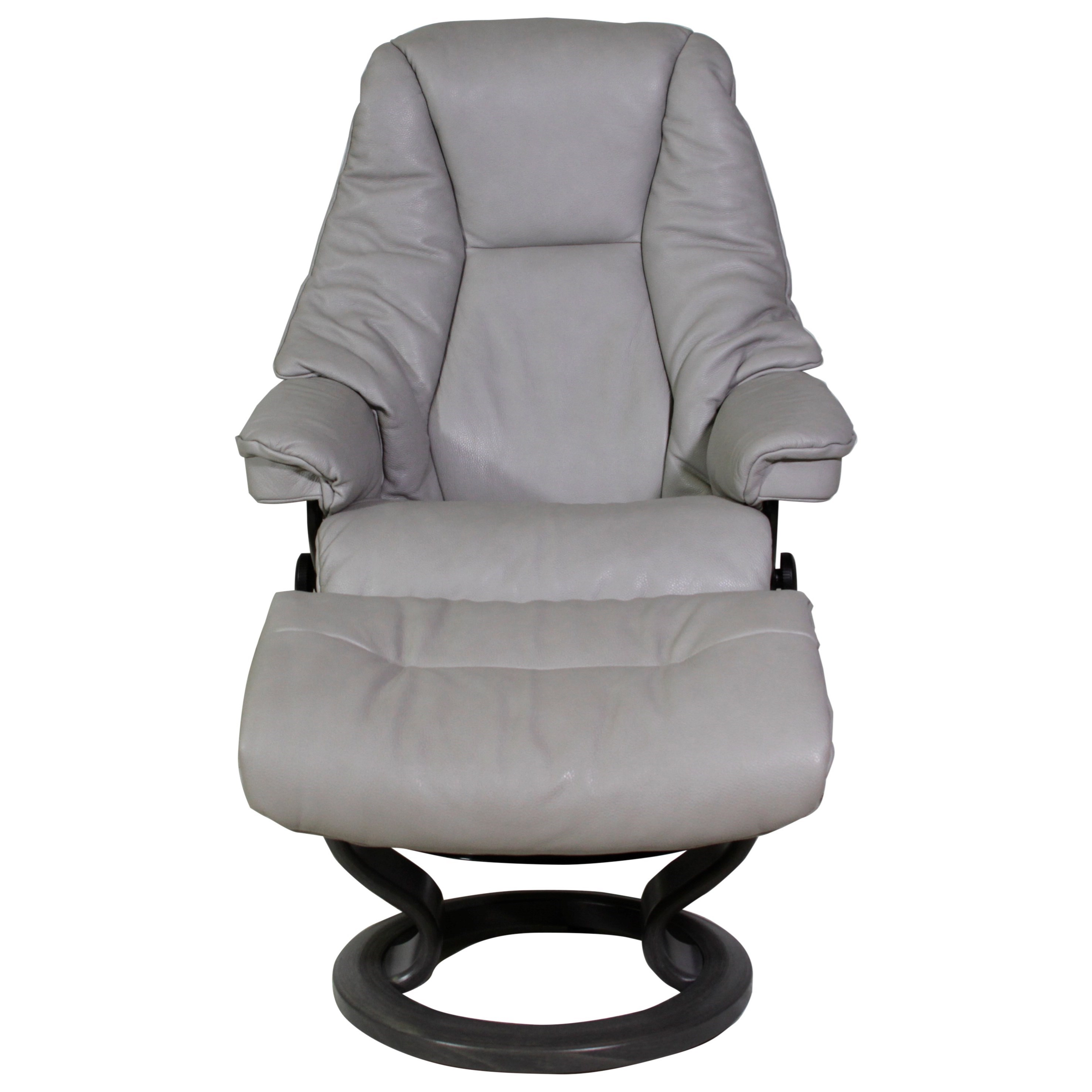 Small Chair With Ottoman Stressless Live Small Reclining Chair And Ottoman With