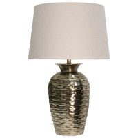 StyleCraft Lamps Hammered Metal Table Lamp | Dream Home ...