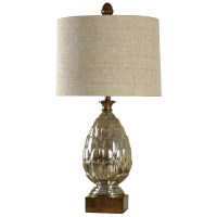 StyleCraft Lamps L38478 Transitional Mercury Glass Table ...