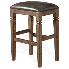 Backless Chair Height Stool Oto Massage Price List Sunny Designs Homestead Bar W