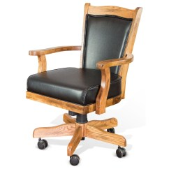 Dining Chairs On Casters Eddie Bauer High Chair Price Sunny Designs Sedona 1411ro Game W
