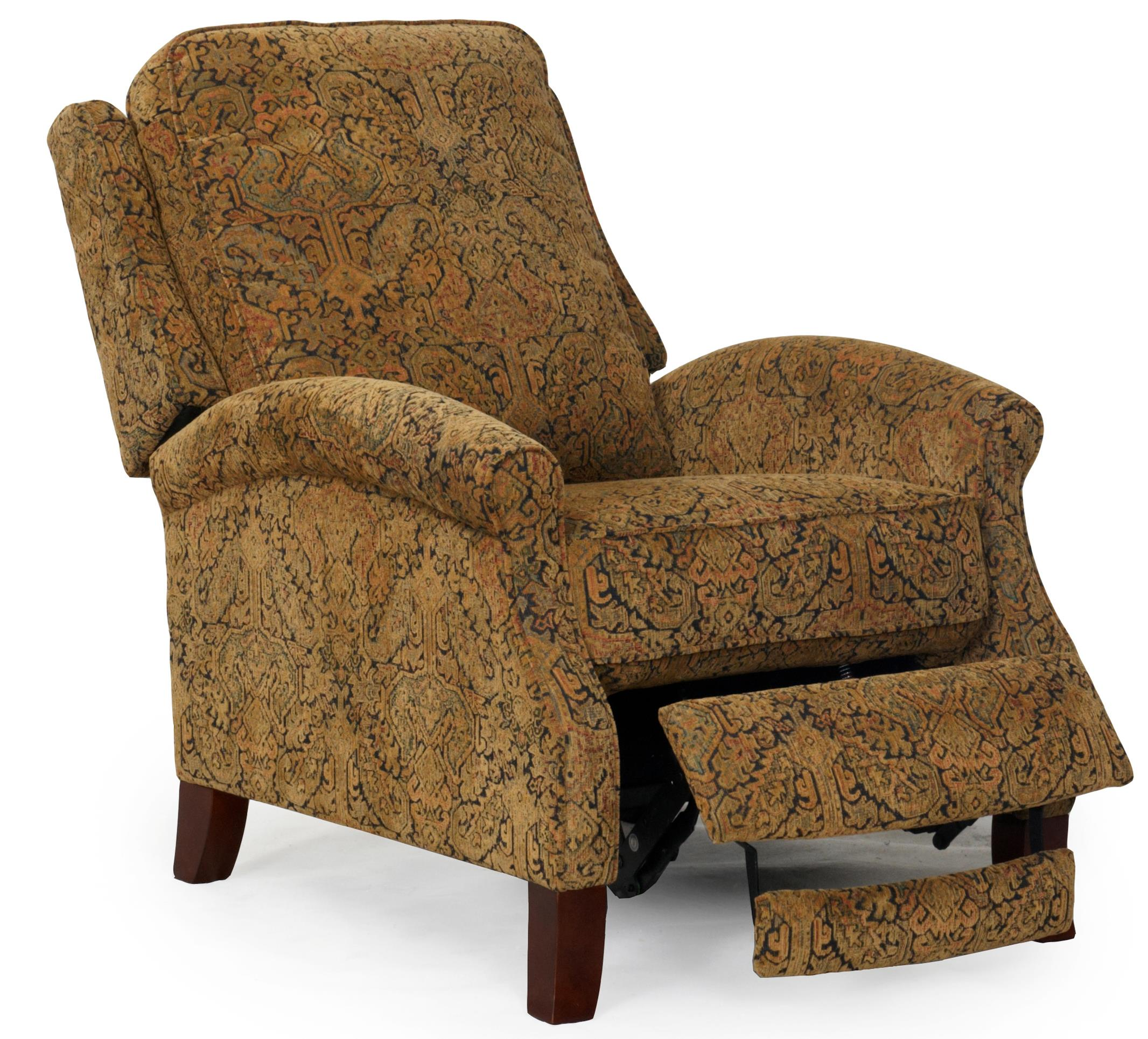 synergy recliner chair oak side chairs home furnishings 1267 86 3 way push back
