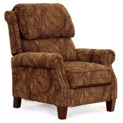 Synergy Recliner Chair Swing Tree Home Furnishings 689 86 Transitional High Leg