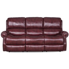 Reclining Sofa With Nailhead Trim Eames Uk Sarah Randolph Designs Manor Power