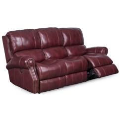 Reclining Sofa With Nailhead Trim Bed Phoenix Az Sarah Randolph Designs Manor Power