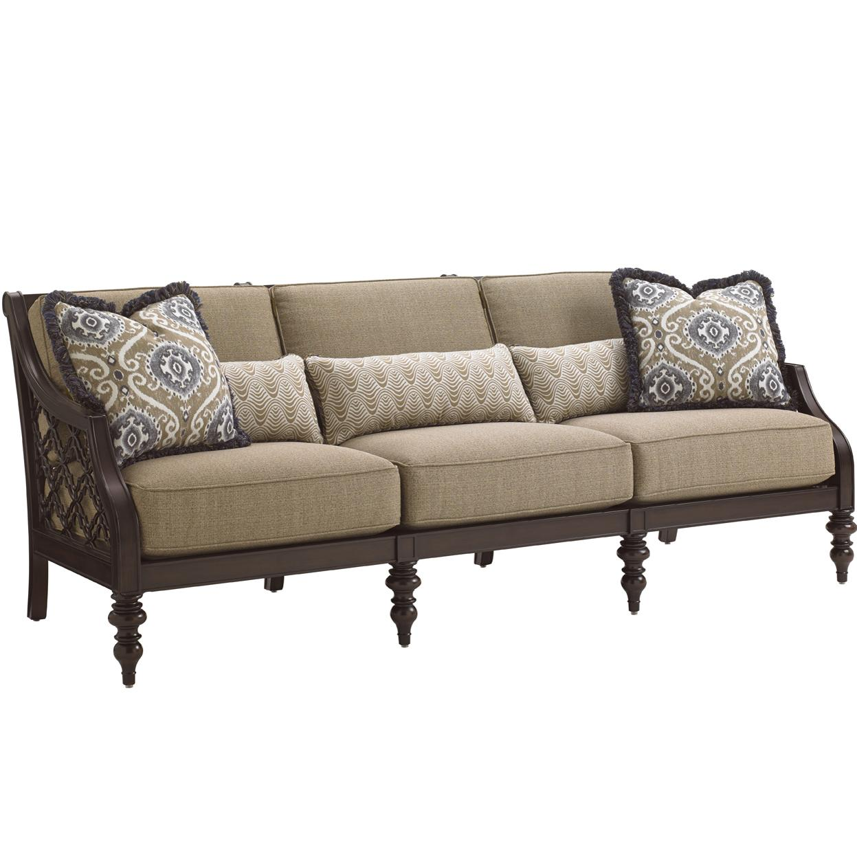 black outdoor sofa sectional sofas toronto craigslist tommy bahama living sands with