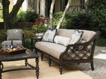 Tommy Bahama Outdoor Living Black Sands Sofa With