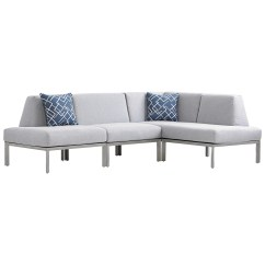 Del Mar Custom Sectional Sofa Corner Bed Leather Tommy Bahama Outdoor Living Three Piece L