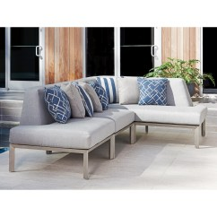 Del Mar Custom Sectional Sofa Vintage Herman Miller Compact Tommy Bahama Outdoor Living Three Piece L