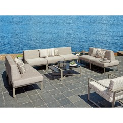Del Mar Custom Sectional Sofa Foldable Bed Single Tommy Bahama Outdoor Living Seven Piece