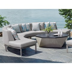 Del Mar Custom Sectional Sofa Corner To Fit Bay Window Tommy Bahama Outdoor Living Three Piece