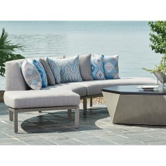 Del Mar Custom Sectional Sofa Pottery Barn Slipcovered Look Alike Tommy Bahama Outdoor Living Two Piece