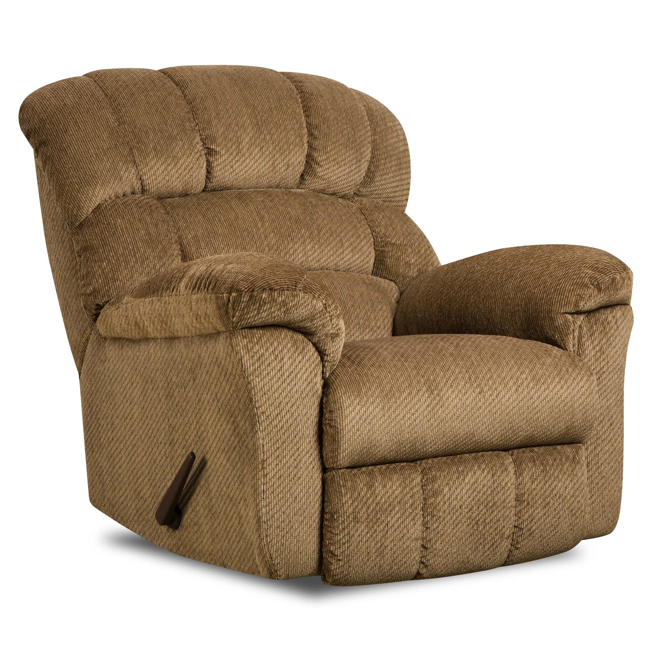 oversized rocking chair cushions baseball bean bag united furniture industries 558 558rockerrecliner large