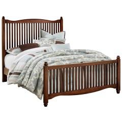 Sofa Bed Timber Slats Extra Long Legs Vaughan Bassett American Maple Solid Wood King Slat