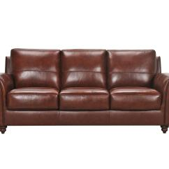 Violino Leather Sofa Stockists Beds San Diego Grady 3508 3p With Rolled Arms And
