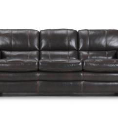 Violino Leather Sofa Stockists Trundle Sleeper 3633 Traditional With Contrast Stitching