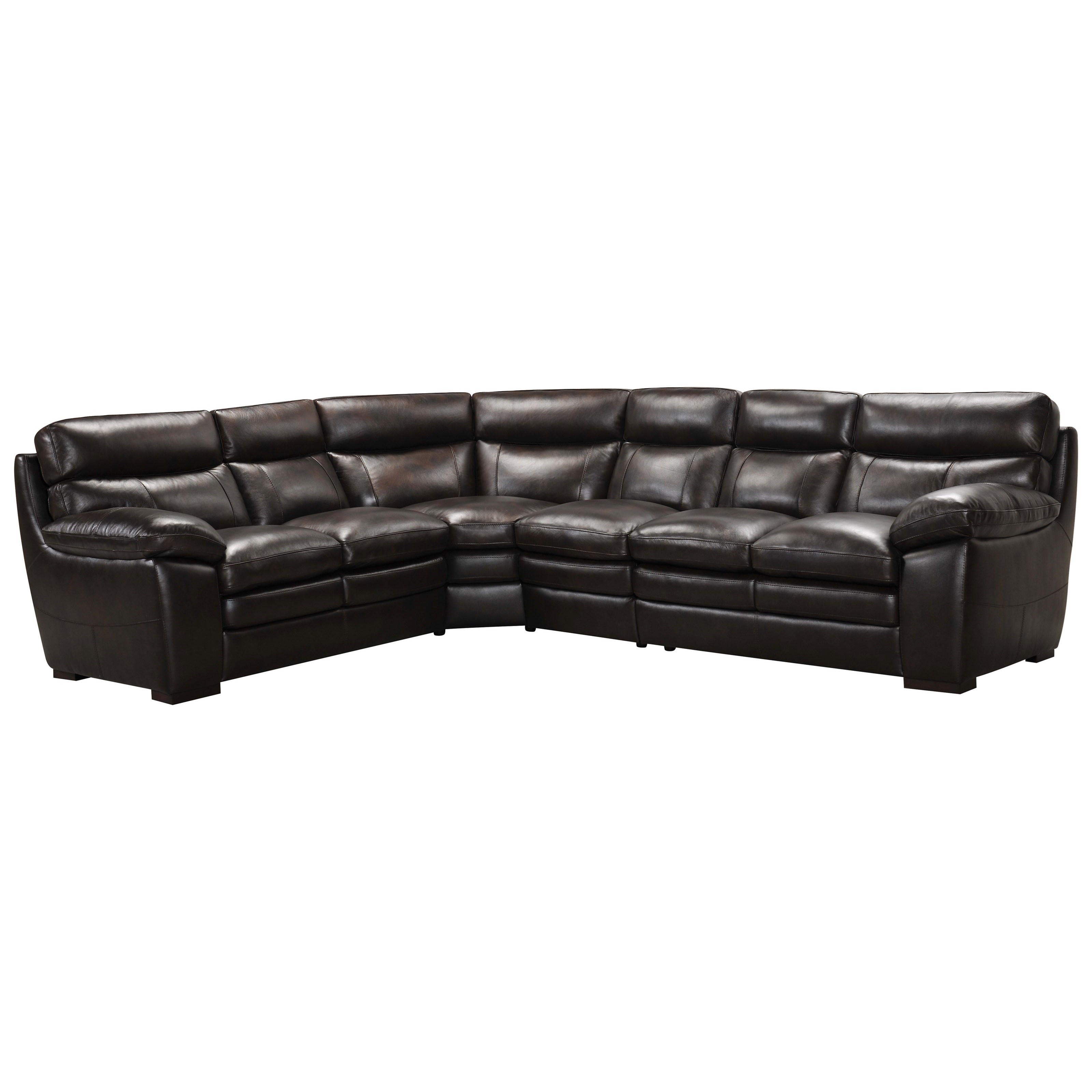 violino leather sofa stockists henry west elm 3658 casual four piece sectional bennett 39s