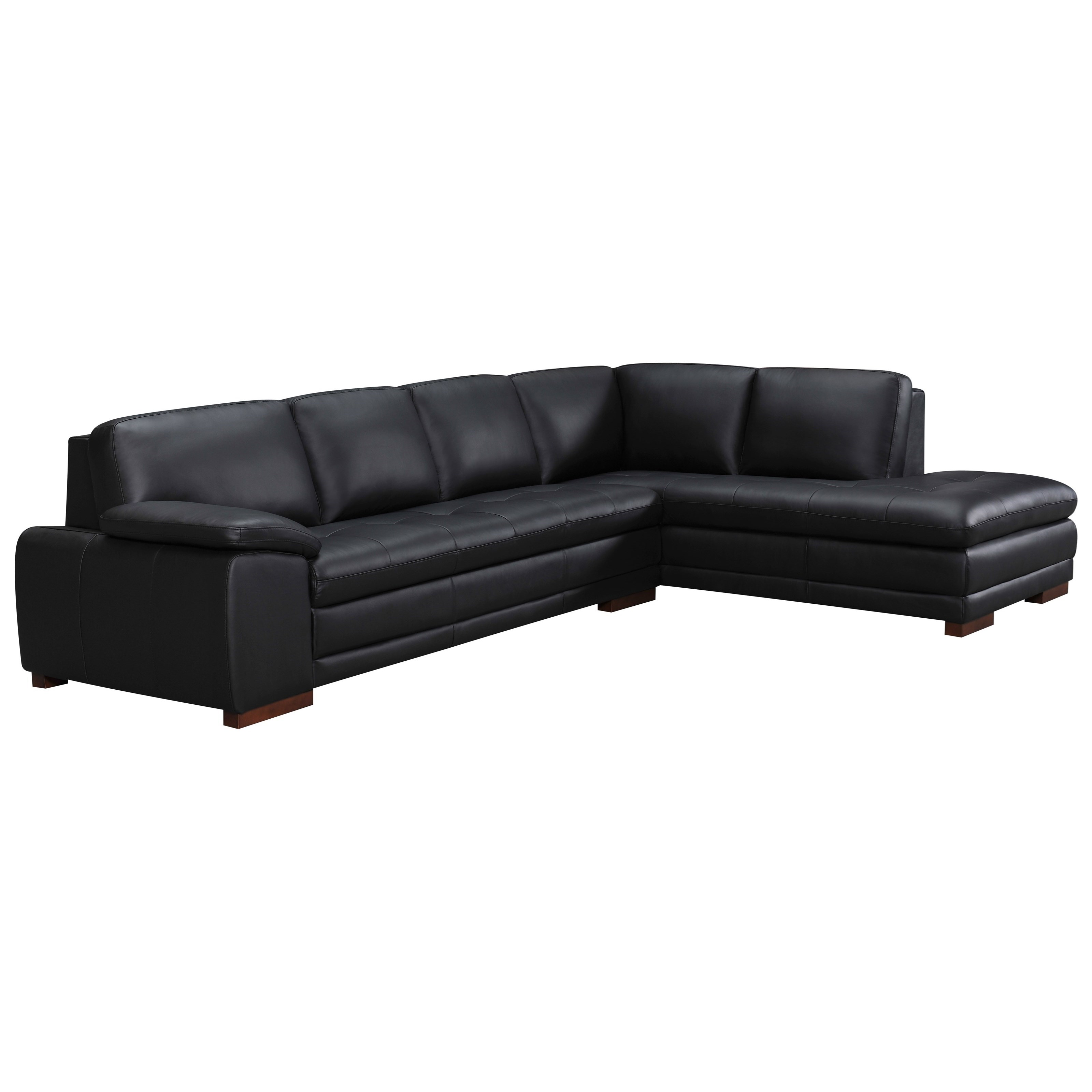 violino leather sofa stockists nailhead trim set 5038 casual two piece sectional bennett 39s