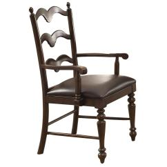 Ladder Back Dining Room Chairs Folding Desk Chair Mat Cambridge Country Arm With Turned Front