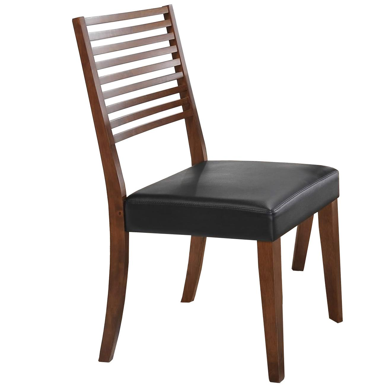 ladder back dining room chairs cheap fold up camping denmark side chair with upholstered seat