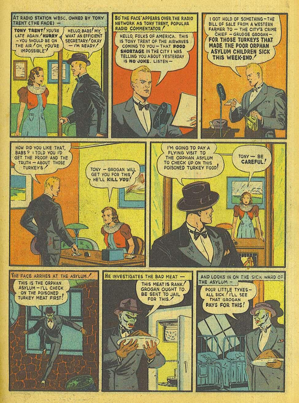 Comic Book Cover For Big Shot Comics #1 - Version 1