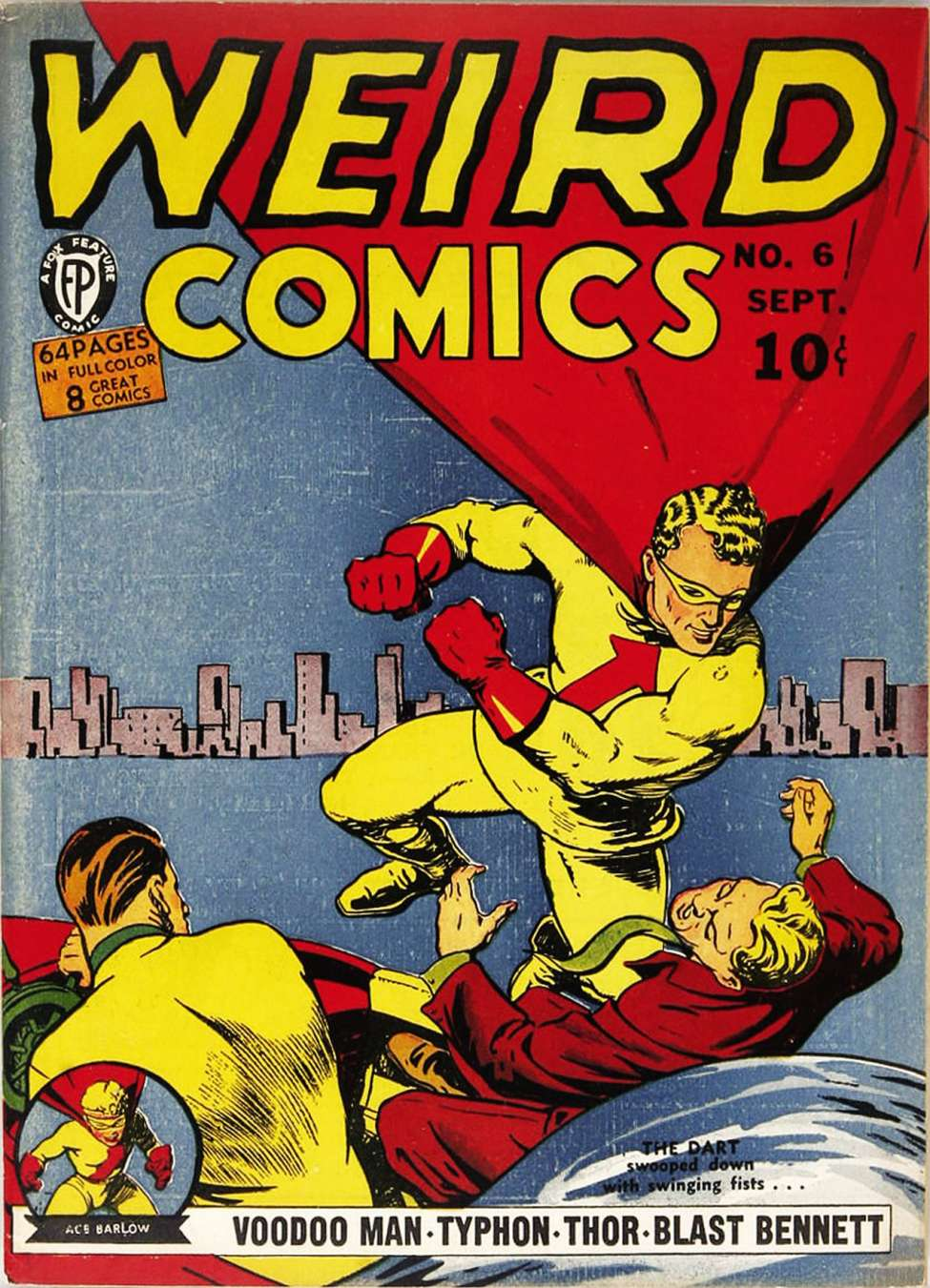 Comic Book Cover For Weird Comics #6 - Version 2