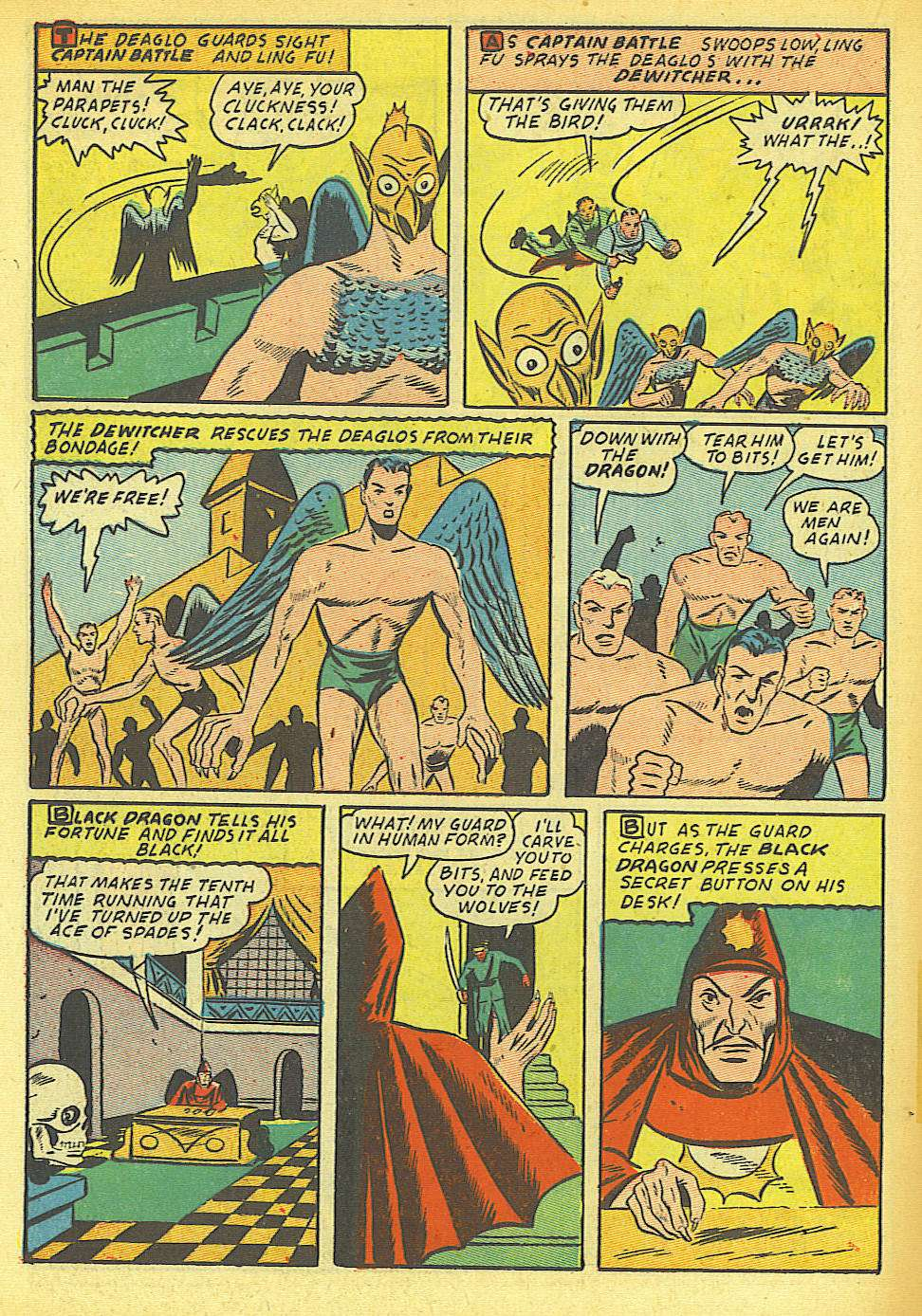 Comic Book Cover For Silver Streak Comics #12