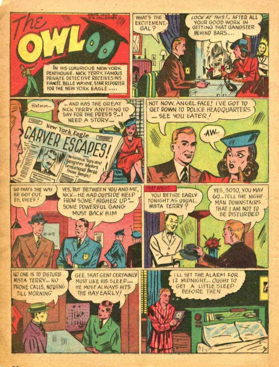 Comic Book Cover For Crackajack Funnies #25